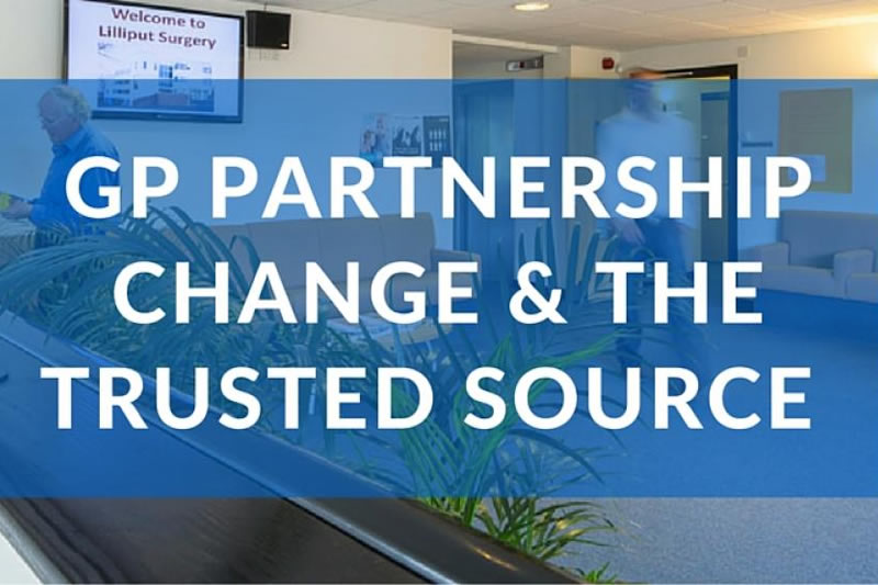 Providing Trusted Resources For GP Partnership Change