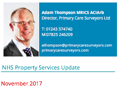 NHS Property Services Update