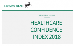 Lloyds Healthcare Confidence Index 2018